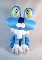 Pokemon: Froakie Plush by sugarstitch