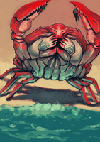 bray crab by Rats-in-the-van