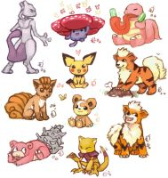 Pokemon collage 3 by emlan