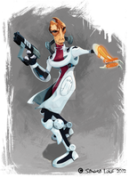 Mordin Solus by Surfergirl015