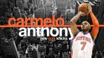 Carmelo Anthony New York Knick by Angelmaker666