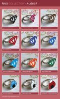 Ring Catalogue: August by Keito-San