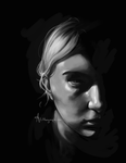 Chiaroscuro Self by Alithographica