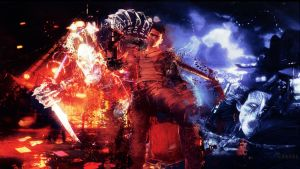 DmC: Devil May Cry Dante and The Hunter by kampinis