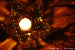 Starry Candle 1 by M-L-Griffith