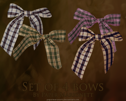 Bows by PaperMarionett