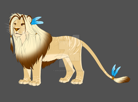Lion Male Auction! by AFrozenHeart