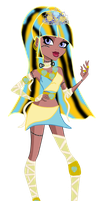 Monster High OC: Tutianna Khamun by MysticSparkleWings