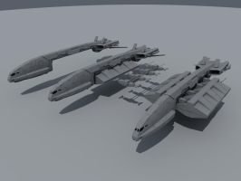 WIP: Transport ship by SmirnovArtem