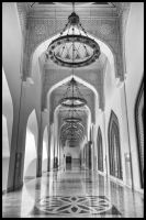 Qatar - Doha - State Mosque 01 - Entry Hall by GiardQatar