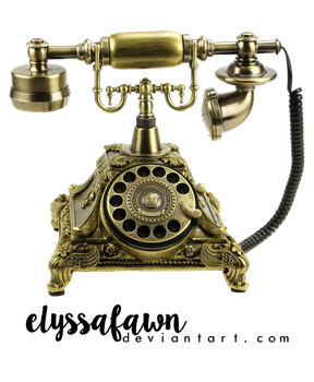 PNG (4) BRONZE PHONE by elyssafawn