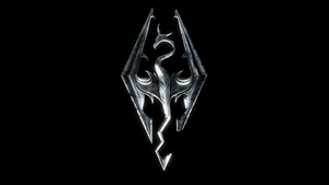 Skyrim Symbol Wallpaper by 7Soul1