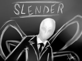 ::Slenderman:: by tenshikaino
