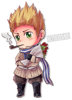 Chibi Series - Netherlands by say0ran