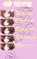 HAIR TUTORIAL by tsunbaki
