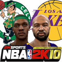 NBA 2K10 The Finals icon by Archer120