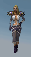 Jaina new dress (Gif) by F-Kn