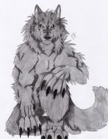Dark Werewolf by Firewolf-Anime