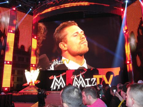 You are watching MIZ TV! by ShadowWolfZ