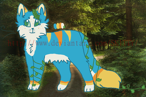 .:CLOSED:. FOREST KITTY AUCTION by SKlTTY