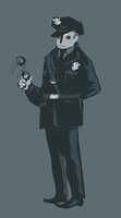 pigeon cop concept by SulphurSpoon