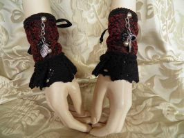 Steampunk-Victorian cuffs PCCC20 by JanuaryGuest