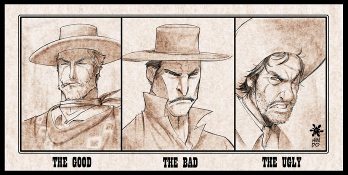 The Good The Bad and The Ugly by Mundokk