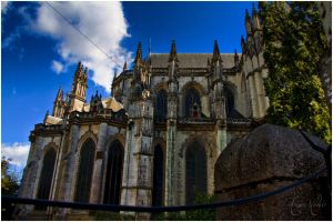 HDR Cathedrale de Nantes 02 by PhantomxLord
