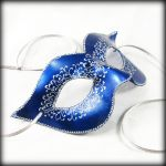 Columbina in Blue and Silver by pilgrimagedesign