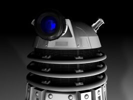 dalek head by Slythenperior