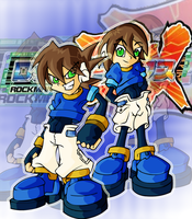 Megaman ZX by MKsBigBrother