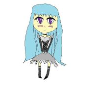 gothic chibi girl by lady5430