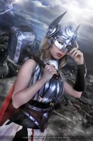 Thor - Jane Foster - Marvel Comics by FioreSofen