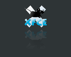 Xfce Wallpaper by frogfrosch23