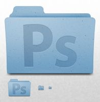 Mac OS X Folder - Adobe Photoshop by ekliptikz