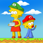 Happy Birthday MarioSimpson1 by mariobros123