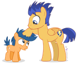 Flash Sentry and First Base by dm29