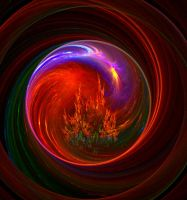 Crystal balls-abstract -apo by sonafoitova