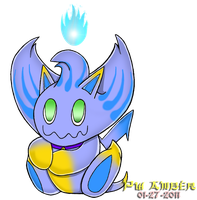 Lucent the Chao by Powerwing-Amber