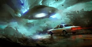 draw something with aliens by Skvor