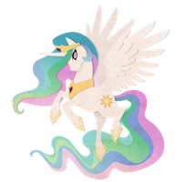 Vector Celestia by NightmareMoonLuna