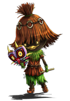 063 - Skull Kid by ultimecia
