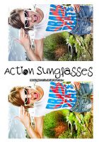 Action Sunglasses by AmazingObsession