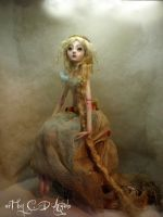 rapunzel ball jointed doll BB by cdlitestudio
