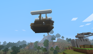 MeinBlitz Airship - Outside by TheKagestar