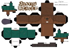 Justin Beaver by Cubee-acres