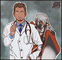 The Doctor and his Mate by shorty-antics-27
