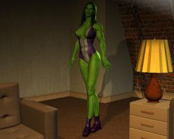 She hulk - Exclusive 03 by MorganCygnus