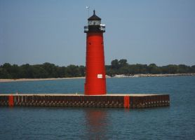 Kenosha Lighthouse by clonedrone2