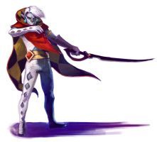 Demon Lord Ghirahim - Color by Mudora